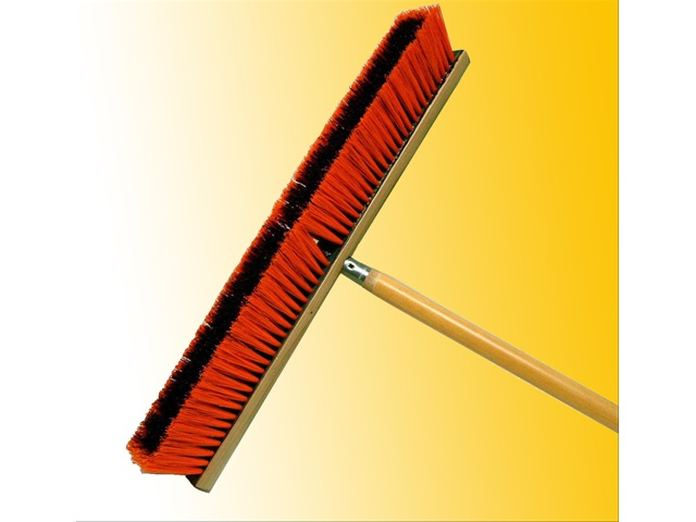 T437L Orange Outdoor Broom
